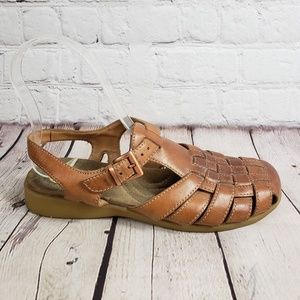 Earth Shoe Womens 6 Angel Fisherman Sandal Shoes